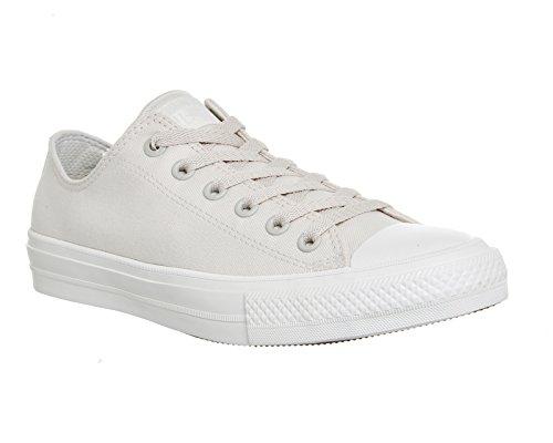 Converse Ctas Ii Ox, Sandalias con Plataforma para Hombre Blanco (Parchment/navy/white)