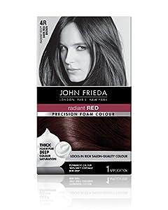 7. John Frieda Precision Foam Colour, Dark Red Brown 4R