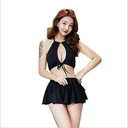 Lenceria sexy Home traje sexy falda corta pecho desnudo la ...
