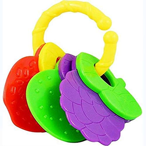 higadget Rattles for Little Babies, 4 Cute Toys for Toddlers, Baby Rattles for Little Babies (4 Rattle Set)