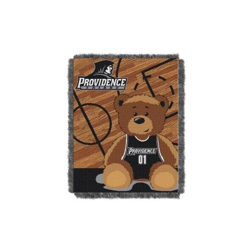 (The Northwest Company Officially Licensed NCAA Providence Friars Half Court Woven Jacquard Baby Throw Blanket, 36