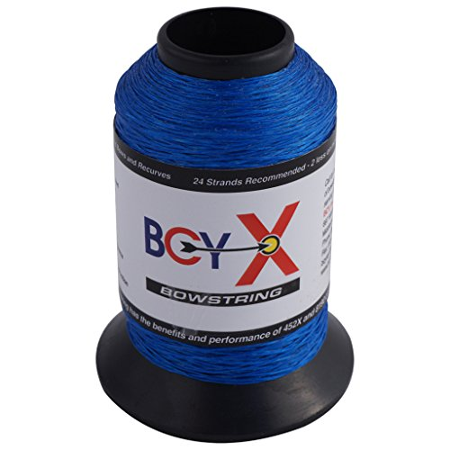 BCY X Bowstring Material Royal Blue 1/8 lb. Bcy 8190 Bowstring Material