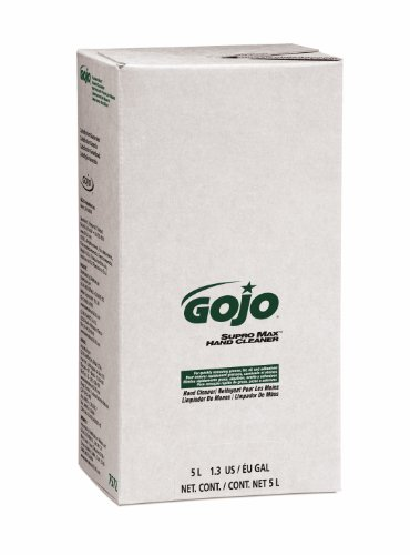 GOJO PRO TDX SUPRO MAX Hand Cleaner, 5000 mL Heavy-Duty Hand Cleaner Refill for GOJO PRO TDX Dispenser (Pack of 2) - 7572-02 by Gojo (Image #1)