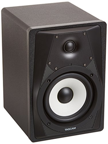 TASCAM VL-S5 Professional 2-Way Studio Monitor with Kevlar Cone and Biamped (2 Way Near Field Monitor)