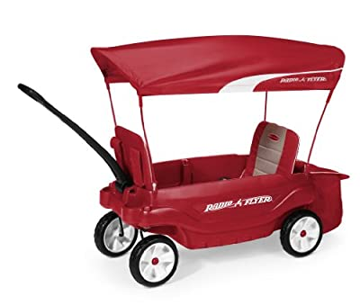 Radio Flyer The Ultimate Comfort Wagon, Red | Computers And Accessories