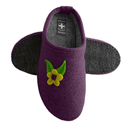 Purple Wool Slippers Velours 23 différentes Mule doux couleurs 4Eqxgw0xY6