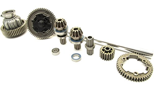 TRAXXAS X-MAXX SPUR GEAR AND SLIPPER CLUTCH SET, 8s CENTER DRIVE DRIVESHAFT ASSEMBLY BY (Center Differential Spur Gear)