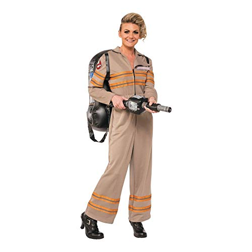 Rubie's Womens Deluxe Ghostbusters Jumpsuit, Multi-colored, Medium]()