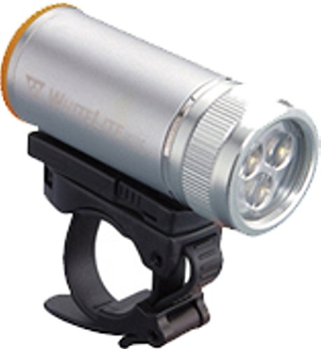 Topeak WhiteLite DX Bicycle Light (Silver) For Sale