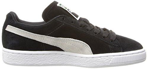 Puma Mujeres Suede Classic Sneaker Black / White