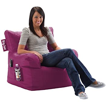 Beau Big Joe Dorm Chair, Pink Passion