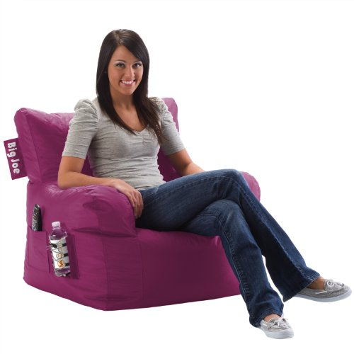Big Joe Dorm Chair, Pink Passion