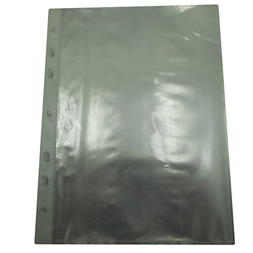 Sheet Protectors - A5 Paper - Clear - Pack of 20 Sheets