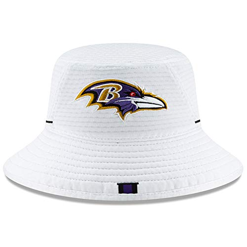 (New Era Baltimore Ravens 2019 NFL Training Camp Official Bucket Hat -)