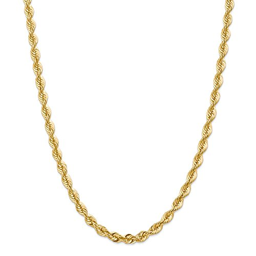 Jewelry Necklaces Chains 14k 6mm Regular Rope Chain