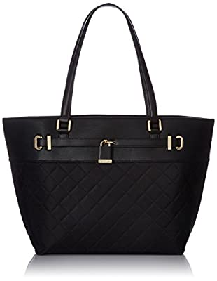 Calvin Klein Lock Quilted Tote
