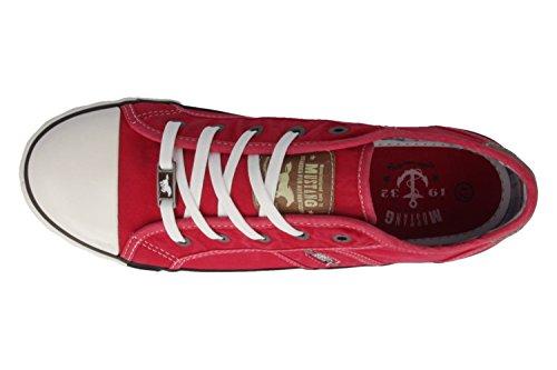 Rot donna 5 rot Sneakers 302 1099 da Mustang Sq7FBwF