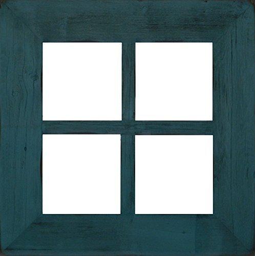 Rustic Barnwood Window MIRROR 3″ (Large 4-Pane) For Sale