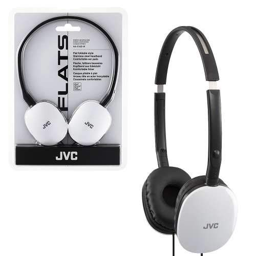 - JVC Victor Head-band Foldable Headphones | HA-S160-W White (Japanese Import)