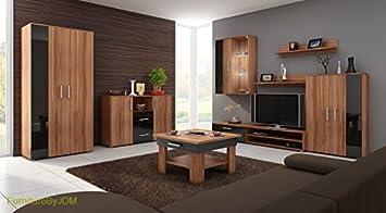 GroBartig Wohnzimmer Möbel Set, TV Wohnwand U0026quot;STELLAu0026quot; TV Bench, Freistehend  Display Einheit