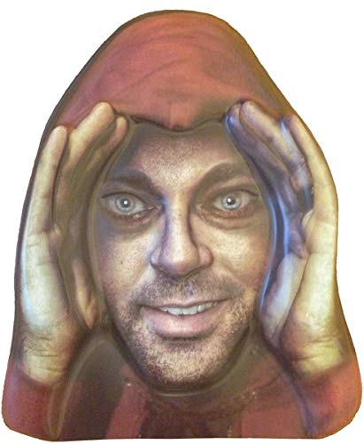 Scary Peeper Cling Window Mask