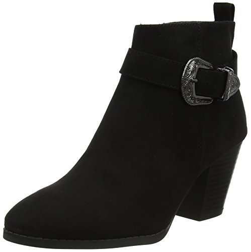 Western Mujer 1 Botines Look Capture Negro black Para New Xwx1CpEqx