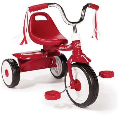 8cdfe09ff2a Amazon.com : Radio Flyer` Folding Red Trike (Red) : Childrens Tricycles :  Sports & Outdoors