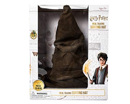 Sombrero Clasificador Electrónico Harry Potter, Color marrón, Talla Única (13083) , color, modelo surtido