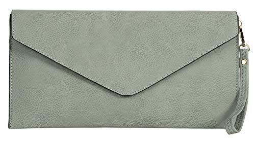 Medium Forme Tan Handbag Longue Parti en Big 32x17 Pochette Gris Femmes LxH Avec Enveloppe cm Mariage Bandoulière Shop de nawBpXTqB