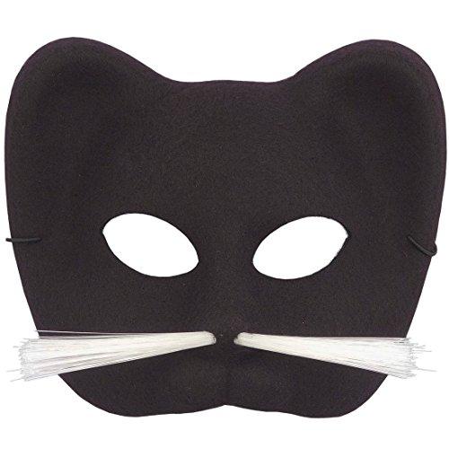 Forum Novelties 60818 Half Black Panther Mask