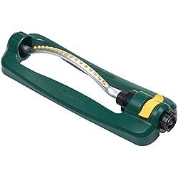 Melnor 30261 Turbo Oscillating Sprinkler, 3,200 sq. ft, Green