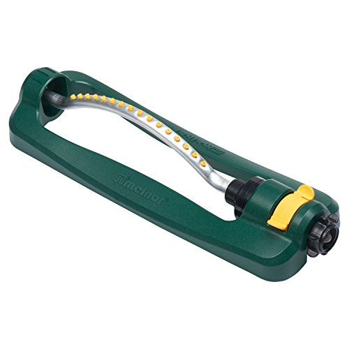 Melnor 30261 Turbo Oscillating Sprinkler, 3,200 sq. ft, green
