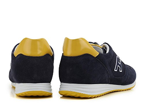 Hogan Heren Hxm2050u670fkb873m Blauwe Suède Sneakers