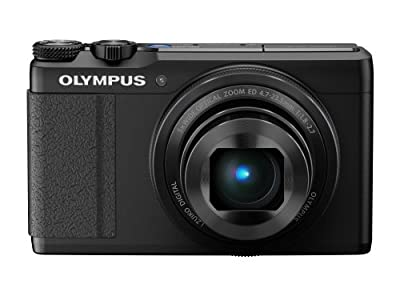 Olympus XZ-10 iHS 12MP Digital Camera with 5x Optical Image Stabilized Zoom and 3-Inch LCD (Black) (Old Model)