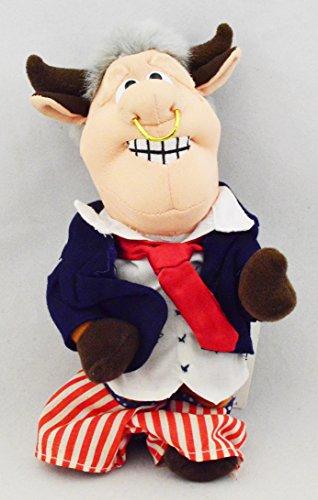 Infamous Meanies BULL Bill CLINTON Pants Down Political Satire Stuffed - Clinton Mall