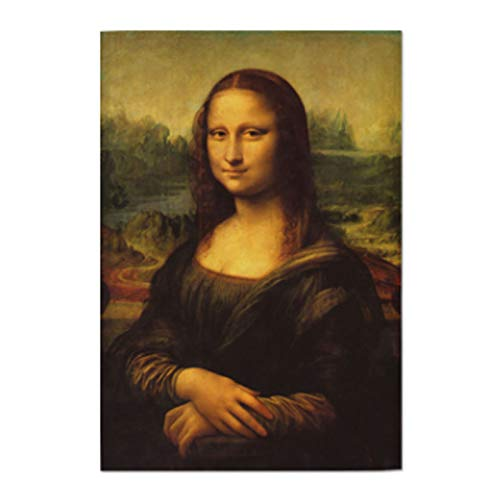 AbundanceHomeDesign Mona Lisa by Leonardo Da Vinci/Printed on Premium Fabric Poster/Tapestry Wall Hanging for Wall Decor/Famous Painting Art Collection/S M L Sizes - Medium 23.62