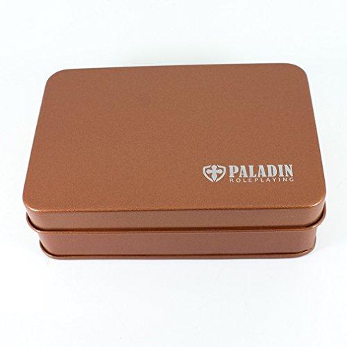 Paladin Roleplaying Metal Dice Tin - Bronze ()