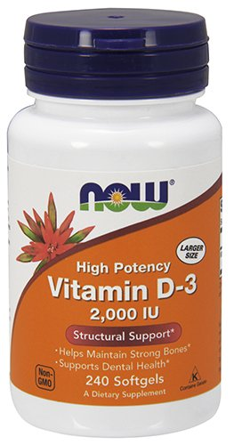NOW Foods Vitamin D-3, Structural Support