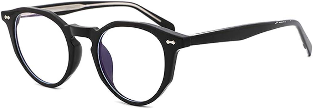 OQ CLUB Brillenrahmen Anti-Blaulicht Unregelm/ä/ßige Anti-Erm/üdungs-Computerbrillen f/ür M/änner und Frauen