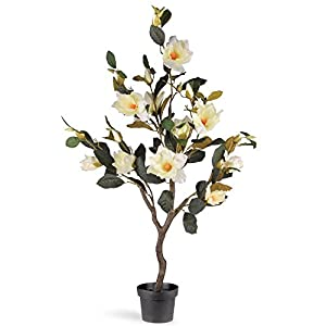 National Tree Company 48 in. Magnolia Floor Silk Plant 45
