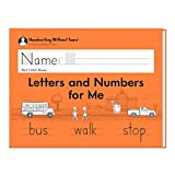 Handwriting Without Tears Letters and Numbers - Kindergarten