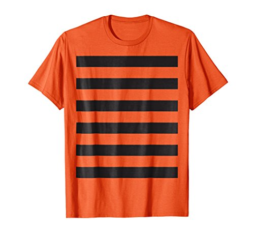 Tiger Print T-Shirt Costume Idea Tigers Stripes Pattern