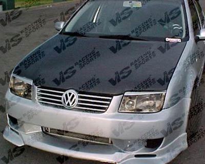 VIS 99-04 VW Jetta Carbon Fiber Hood OEM MK4/A4 (Jetta Carbon Fiber Hoods)