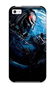 Hard Plastic Iphone 5c Case Back Cover,hot Alien Vs Predator Case At Perfect Diy