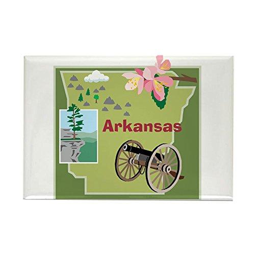CafePress Arkansas Rectangle Magnet Rectangle Magnet, 2