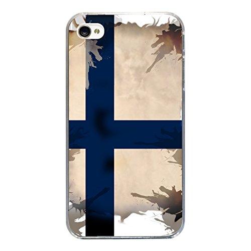 """Disagu Design Case Coque pour Apple iPhone 4 Housse etui coque pochette """"Finnland"""""""