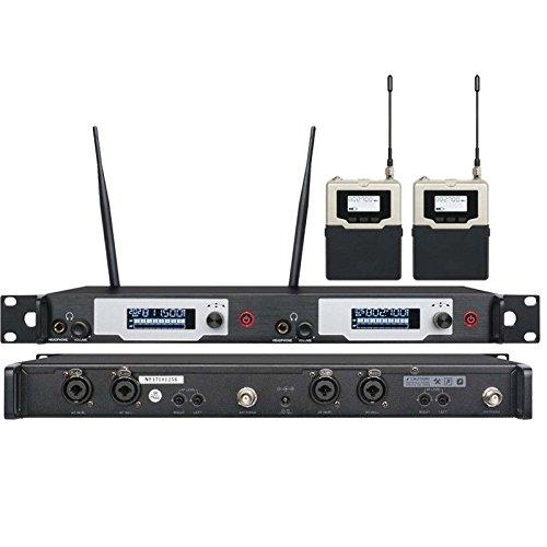 UKINGMEI 9400 UHF Dual channel wireless in ear mon...