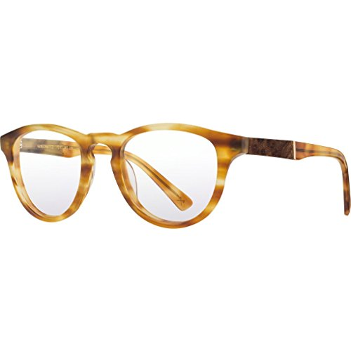Shwood RX Francis Acetate Glasses   Matte Honey & Elm Burl - Brown by Shwood