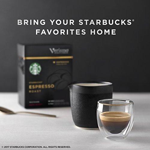 Starbucks Verismo Espresso Roast Espresso Single Serve Verismo Pods, Dark Roast, 6 boxes of 12 (72 total Verismo pods) by Starbucks (Image #5)