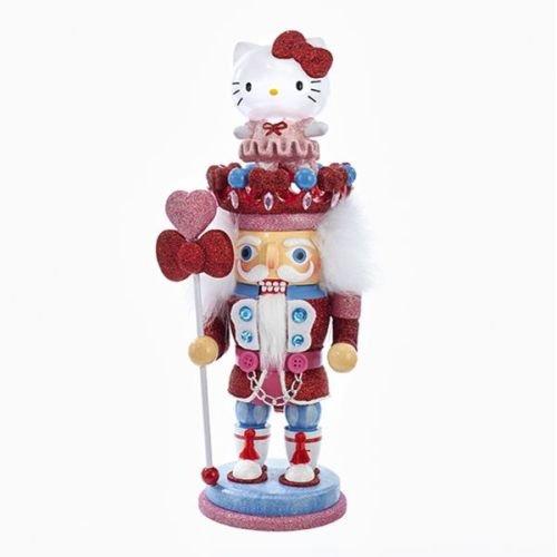Kurt Adler 15'' Hello Kitty Hollywood Nutcracker